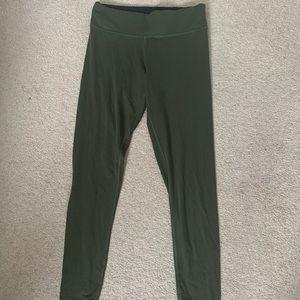 VS PINK ultimate high waisted green leggings